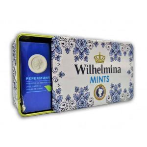 Wilhelmina Mints Delftst Blauw blikje 100 gr.