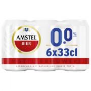Amstel  0.0% blik 6 x 33 CL