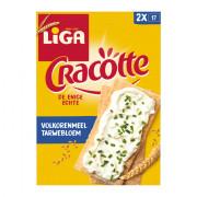 Liga Cracottes Volkoren 250 gram