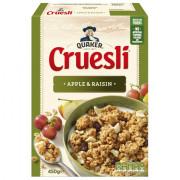 Quaker Cruesli appel & rozijn 450 gram