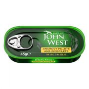 John West Ansjovisfilets in olie 45 gram blikje