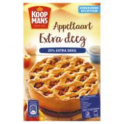 Koopmans Mix voor appeltaart extra deeg mix 580 gram