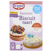 Dr. Oetker Mix voor biscuittaart 330 gram