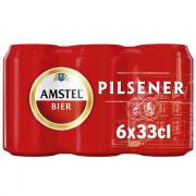Amstel Pilsener blik 6 x 33 CL