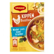 Maggi Minder zout bouillon kip 72 gram