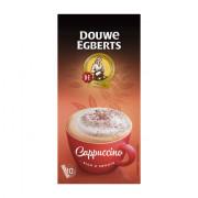Douwe Egberts Verwenkoffie cappuccino oploskoffie 10 stuks