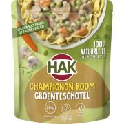 Hak Zak Champignon room groenteschotel 500 gram