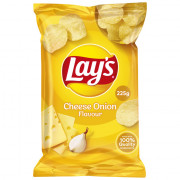 Lays Chips Cheese Union 225 gram