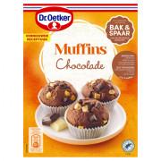 Dr. Oetker Mix voor chocolade muffins 345 gram