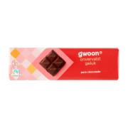 G'woon Chocoladereep puur 180 gram