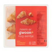 G'woon Mini roomboter croissants 8 x 25 gram