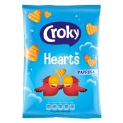 Croky Hearts Paprika 80 gram