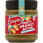 Duyvis Peanut butter 100% peanuts 290 gram