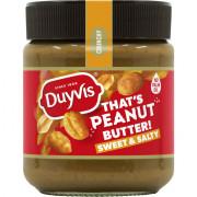 Duyvis Peanut butter 100% sweet & salty 290 gram