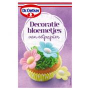 Dr. Oetker Decoratiebloemetjes voor cupcakes 3 gram