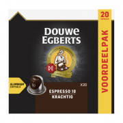 Douwe Egberts Espresso krachtig koffiecups 20 stuks