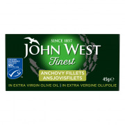 John West Finest ansjovisfilets in extra virgine olijfolie 45 gram