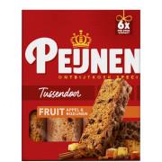 Peijnenburg Ontbijtkoek tussendoor fruit 6 stuks