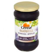 Céréal Gluco regul bosbessen jam 320 gram