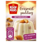 Koopmans Griesmeel pudding bitterkoekjes 90 gram