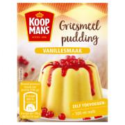Koopmans Griesmeel pudding vanille 80 gram