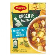 Maggi Minder zout bouillon groente 72 gram