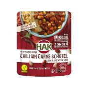 Hak Zak Bonenschotels chili sin carne 550 gram