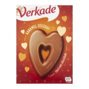 Verkade Chocolade hart karamel zeezout 135 gram