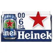 Heineken  0.0% blik 6 x 33 CL