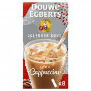 Douwe Egberts Cappuccino oplos ijskoffie 8 stuks