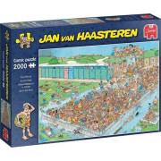 Jumbo Jan Van Haasteren - Bomvol Bad (2000 Stukjes)