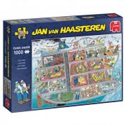 Jumbo Jan Van Haasteren - Cruiseschip (1000 Stukjes)