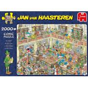 Jumbo Jan Van Haasteren - De Bibliotheek (2000 Stukjes)