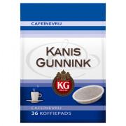 Kanis & Gunnink Cafeïnevrije koffiepads 36 stuks