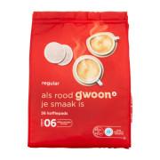 G'woon Koffiepads regular 36 koffiepads
