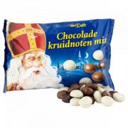 Van Delft Kruidnootjes mix chocolade 250 gram