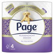 Page Toiletpapier kussenzacht design 4 stuks