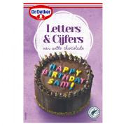 Dr. Oetker Chocolade letters & cijfers 44 gram