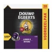 Douwe Egberts Lungo intens koffiecups 20 stuks