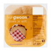 G'woon Maaltijdpita's 4 x 80 gram