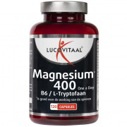 lucovitaal Magnesium 400 mg, B6 & L-tryptofaan 120 stuks