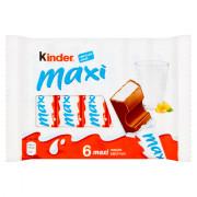 Kinder Chocolade reepjes maxi 6 stuks