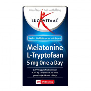 lucovitaal Melatonine L-Tryptofaan 5mg 30 stuks