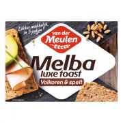 Van der Meulen Melba luxe toast volkoren & spelt 100 gram