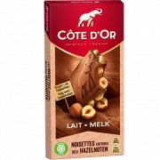 Cote d'or Tablet melk hele hazelnoten 200 gram