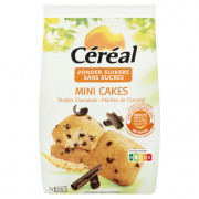 Céréal Mini cake met stukjes choc 196 gram