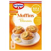 Dr. Oetker Mix voor Muffins banaan 180 gram