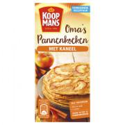 Koopmans Mix voor Oma's pannenkoeken met kaneel 400 gram