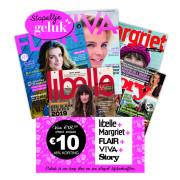 Libelle, Margriet, Viva, Flair, Story tijdschriften pakket