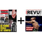Panorama & Nieuwe Revu tijdschriften pakket